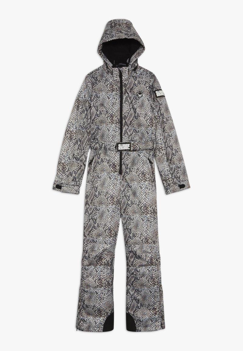 SuperRebel - SKI SUIT BOYS GIRLS - Snow pants - beige