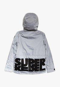 SuperRebel - TECHNICAL JACKET - Snowboardová bunda - silver reflective - 1