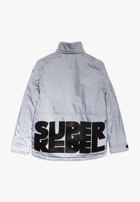 SuperRebel - TECHNICAL JACKET - Snowboardová bunda - silver reflective - 2