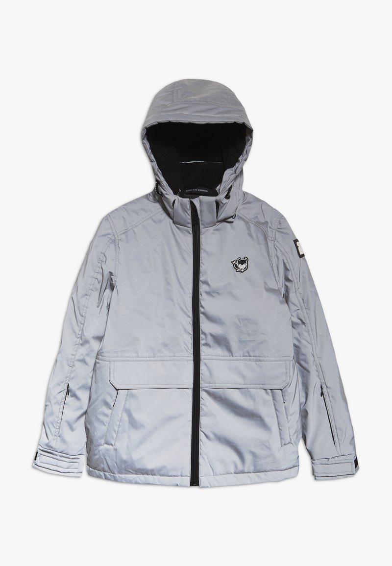 SuperRebel - TECHNICAL JACKET - Snowboardová bunda - silver reflective
