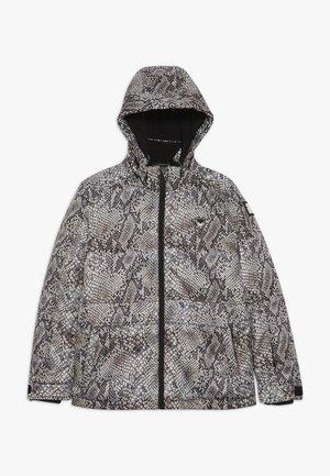 SKI TECHNICAL JACKET ALL OVER - Snowboard jacket - beige