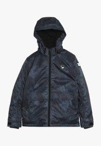 SuperRebel - SKI TECHNICAL JACKET ALL OVER - Snowboard jacket - grey/blue - 0