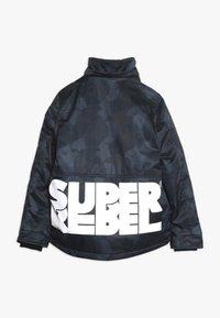 SuperRebel - SKI TECHNICAL JACKET ALL OVER - Snowboardová bunda - grey/blue - 2