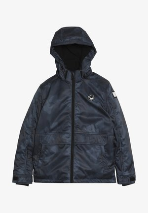 SKI TECHNICAL JACKET ALL OVER - Snowboard jacket - grey/blue