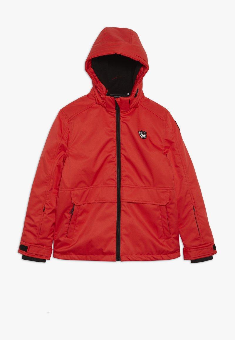 SuperRebel - SKI TECHICAL JACKET PLAIN - Snowboardjacka - neon red