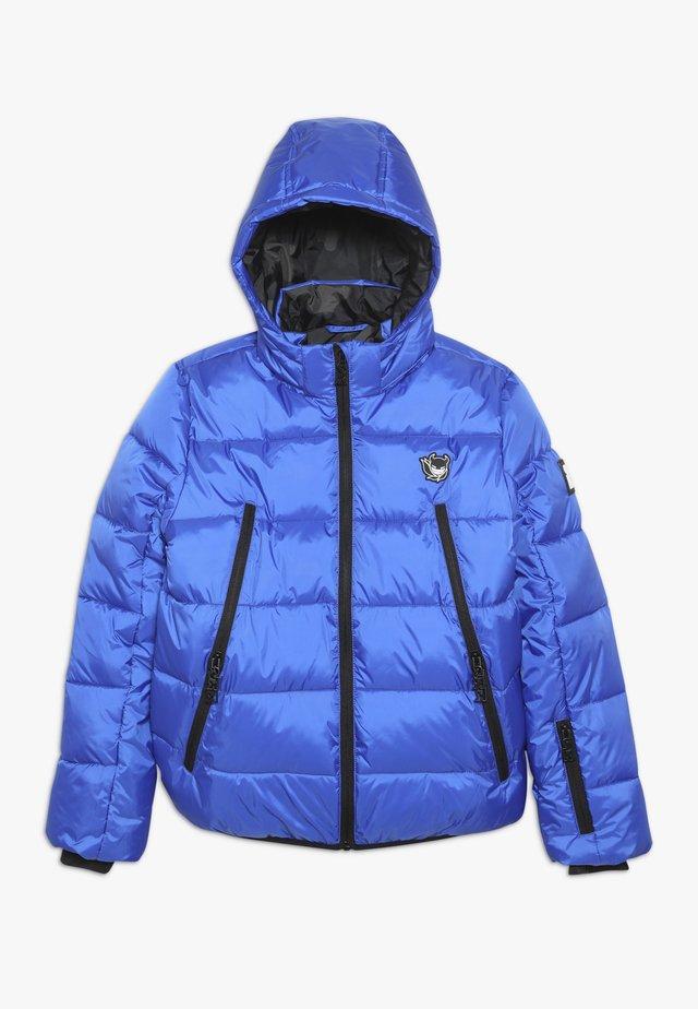 BASIC SHINY BOYS SKI JACKET - Snowboardjacka - yves blue