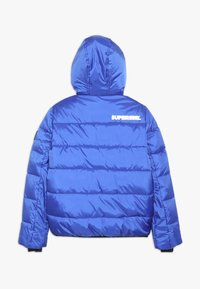 SuperRebel - BASIC SHINY BOYS SKI JACKET - Snowboardjacka - yves blue - 1