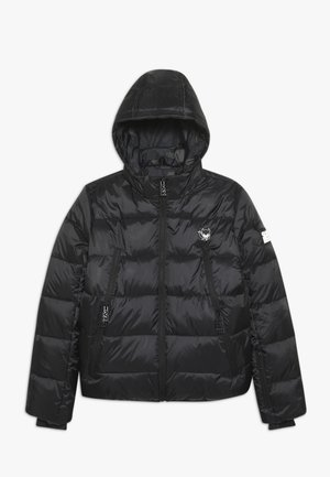 BASIC SHINY BOYS SKI JACKET - Snowboard jacket - black