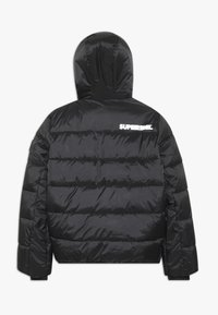 SuperRebel - BASIC SHINY BOYS SKI JACKET - Snowboard jacket - black - 1