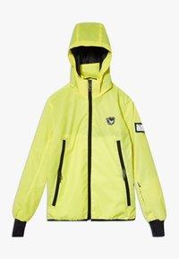 SuperRebel - BOYS REFLECTIVE  - Hardshell jacket - yellow reflective - 0