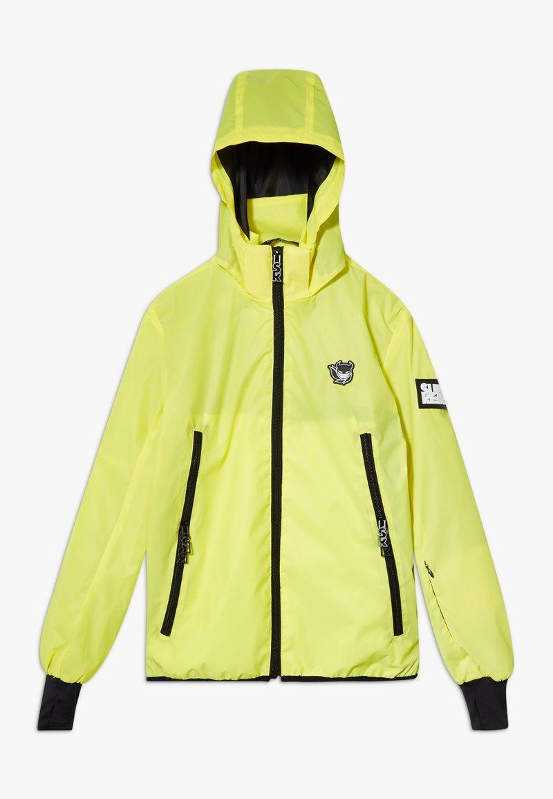 SuperRebel - BOYS REFLECTIVE  - Hardshell jacket - yellow reflective