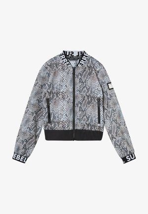 GIRLS - Soft shell jacket - natural snake