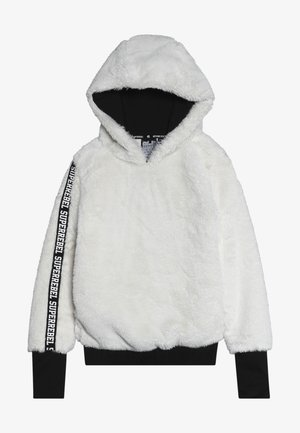 GIRLS HOODED - Hoodie - off white