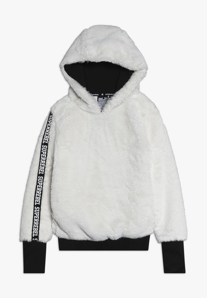 SuperRebel - GIRLS HOODED - Mikina s kapucí - off white