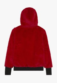 SuperRebel - GIRLS HOODED - Luvtröja - dark red - 1