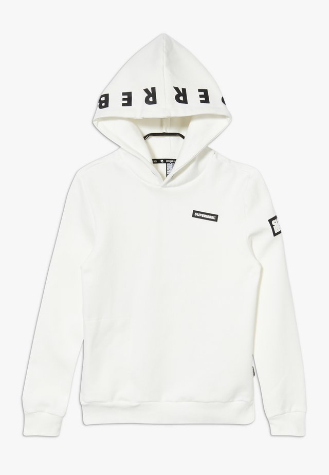 ACTIVE HOODY HEAVY - Luvtröja - white