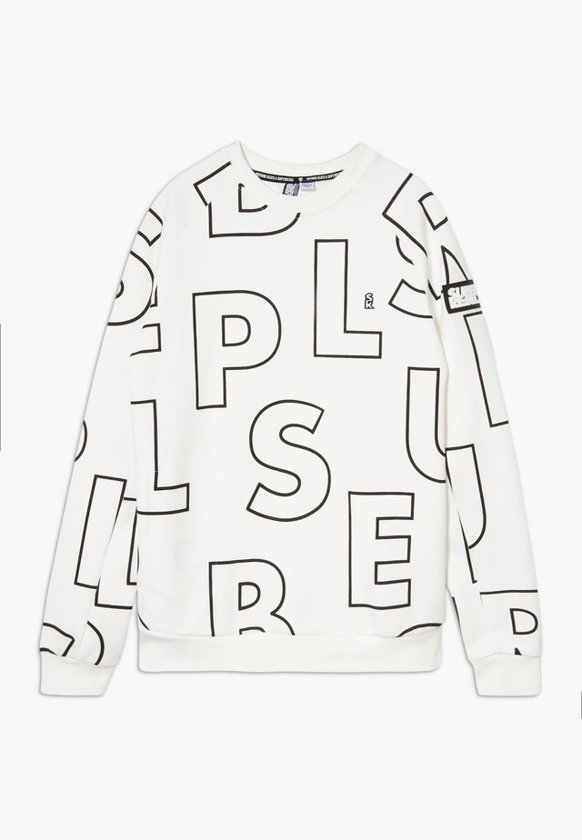 ACTIVE PLAIN HEAVY - Sweatshirt - white