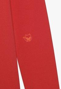 SuperRebel - BOY GIRLS SKI PULL BADGE - Sports shirt - neon red - 3