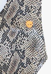 SuperRebel - GIRLS BADINGSUIT - Swimsuit - brown - 4