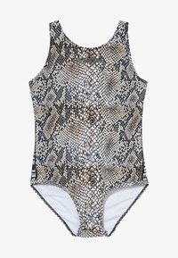 SuperRebel - GIRLS BADINGSUIT - Swimsuit - brown - 3