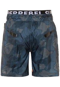 SuperRebel - BOYS SWIM ALL OVER - Swimming shorts - grey blue - 1