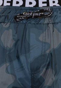 SuperRebel - BOYS SWIM ALL OVER - Swimming shorts - grey blue - 2
