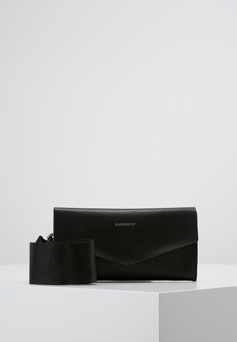Sandqvist - FLORENS - Gürteltasche - black/beige