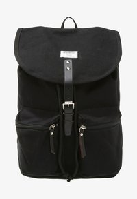 Sandqvist - ROALD GROUND - Tagesrucksack - black - 1
