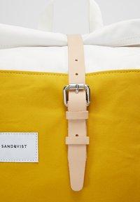 Sandqvist - DANTE - Ryggsekk - multi yellow / off white - 9