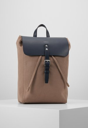ALVA  - Rugzak - earth brown/navy