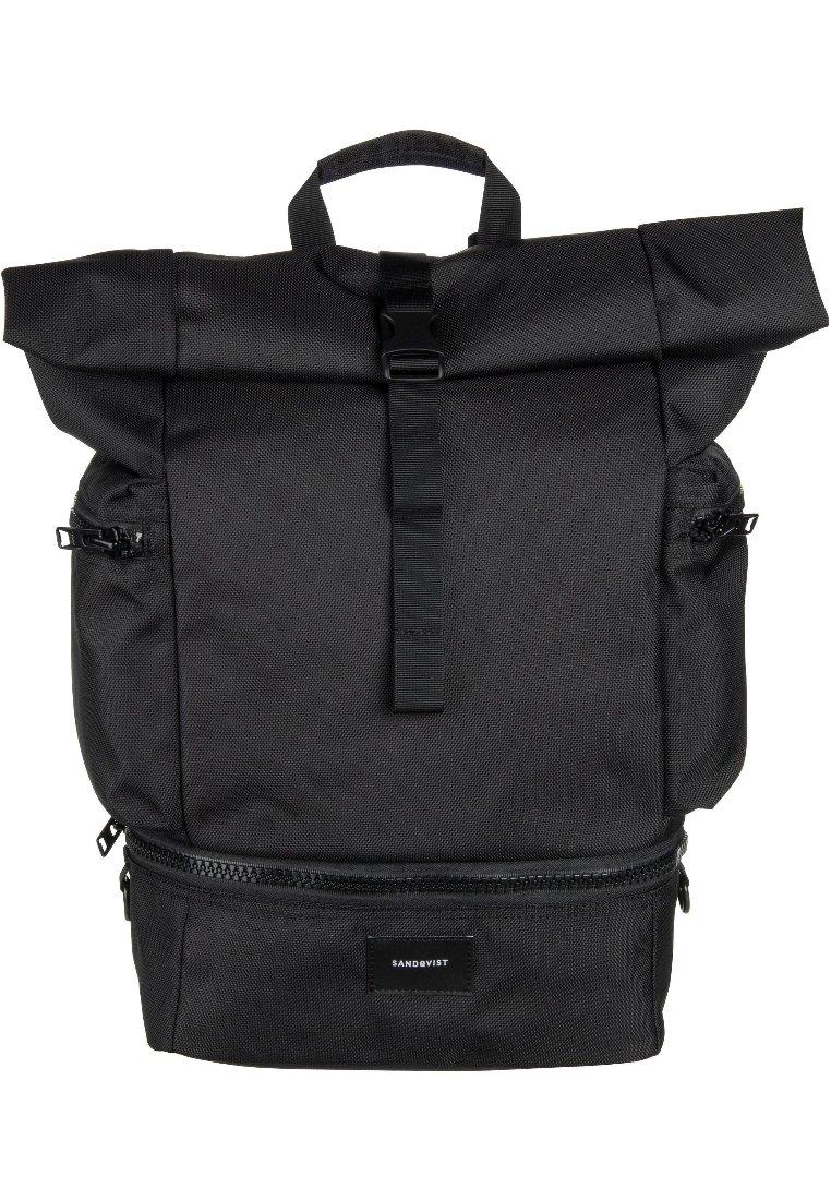 Sandqvist Verner Rolltop Backpack - Sac À Dos Black