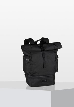 VERNER ROLLTOP BACKPACK - Rygsække - black