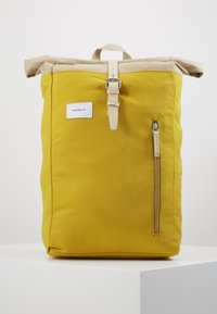 Sandqvist - DANTE - Ryggsekk - yellow/beige - 0
