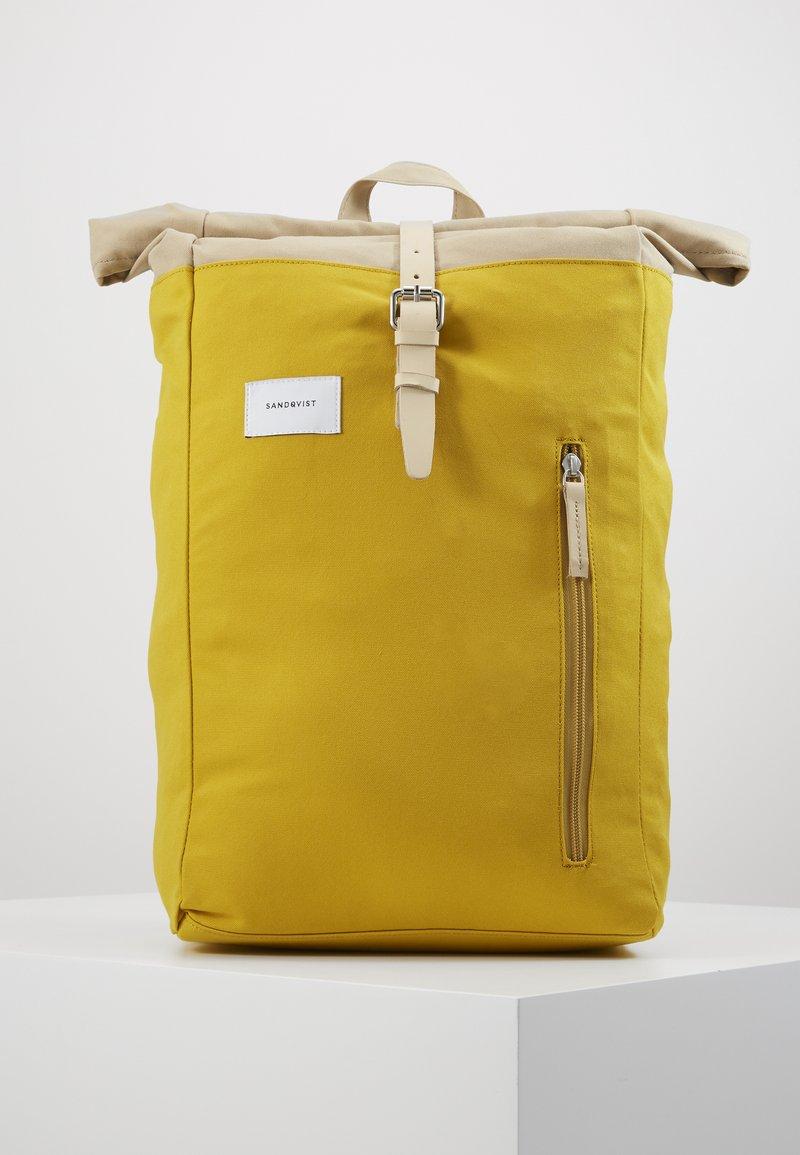 Sandqvist - DANTE - Ryggsekk - yellow/beige