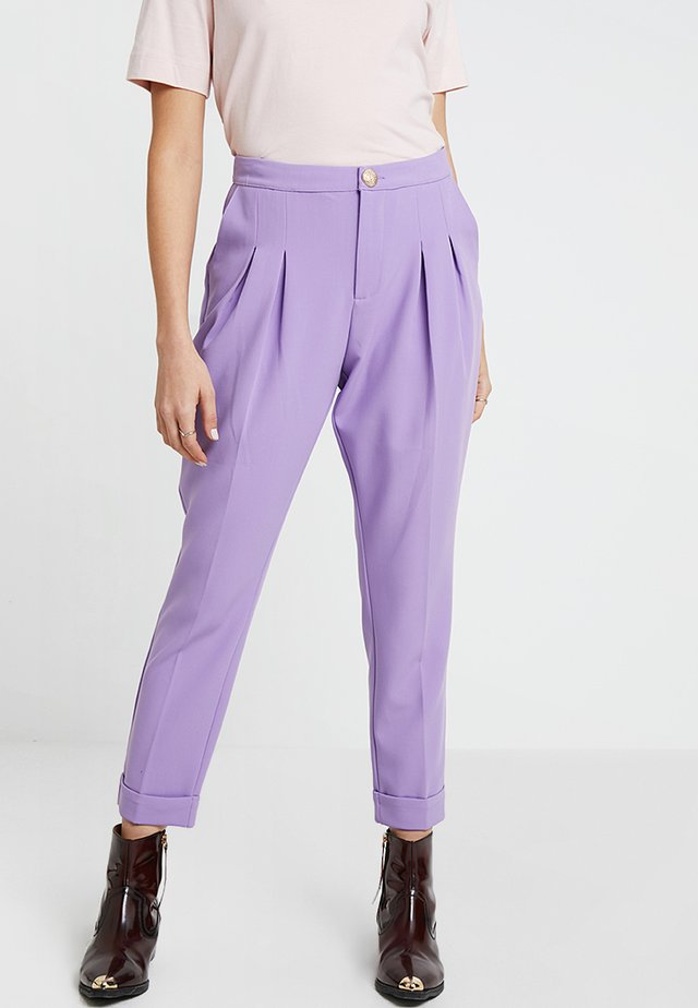 AIDE - Trousers - monster purple
