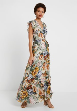 TRYA - Maxi dress - beige/multicoloured