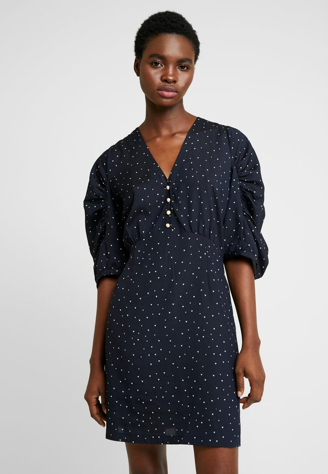EVE - Day dress - navy/cream