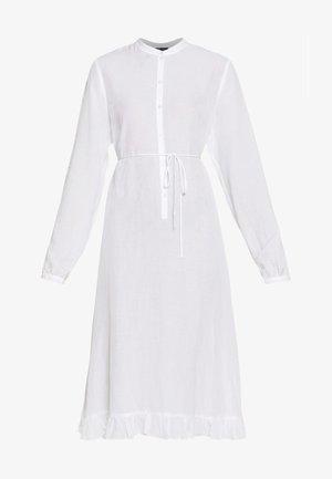 VEDA - Skjortekjole - white