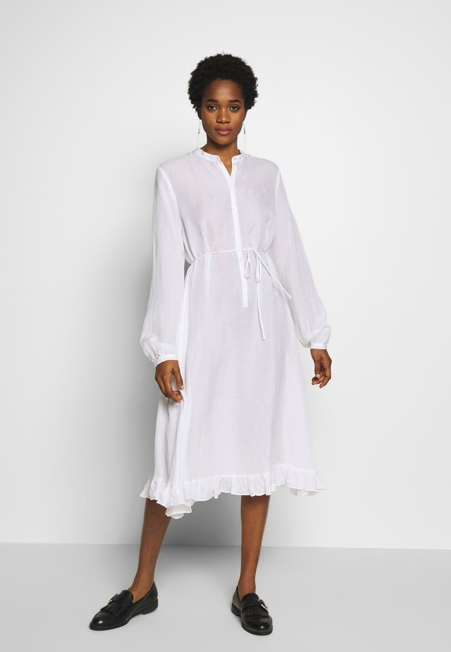 VEDA - Shirt dress - white