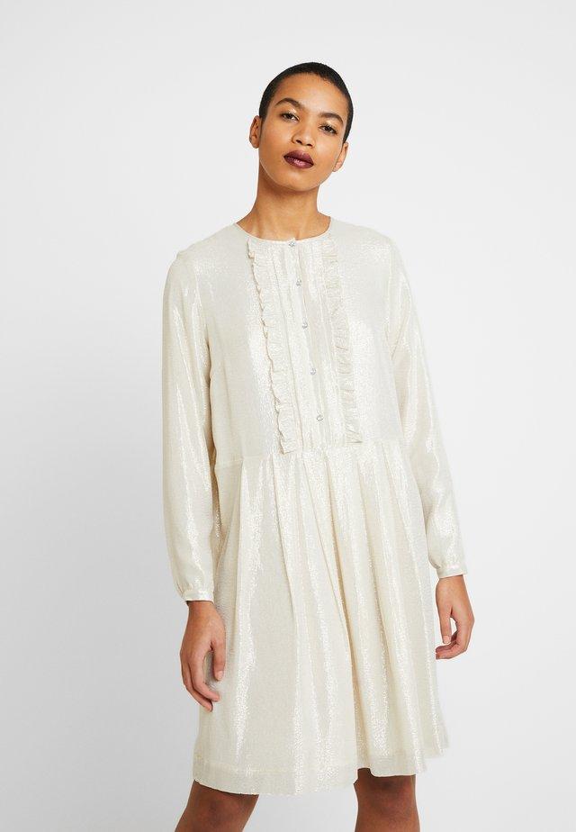 IRIS - Korte jurk - silver