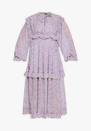 BARBARA - Denní šaty - violet flower field
