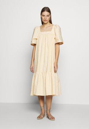 BERA - Denní šaty - yellow/white