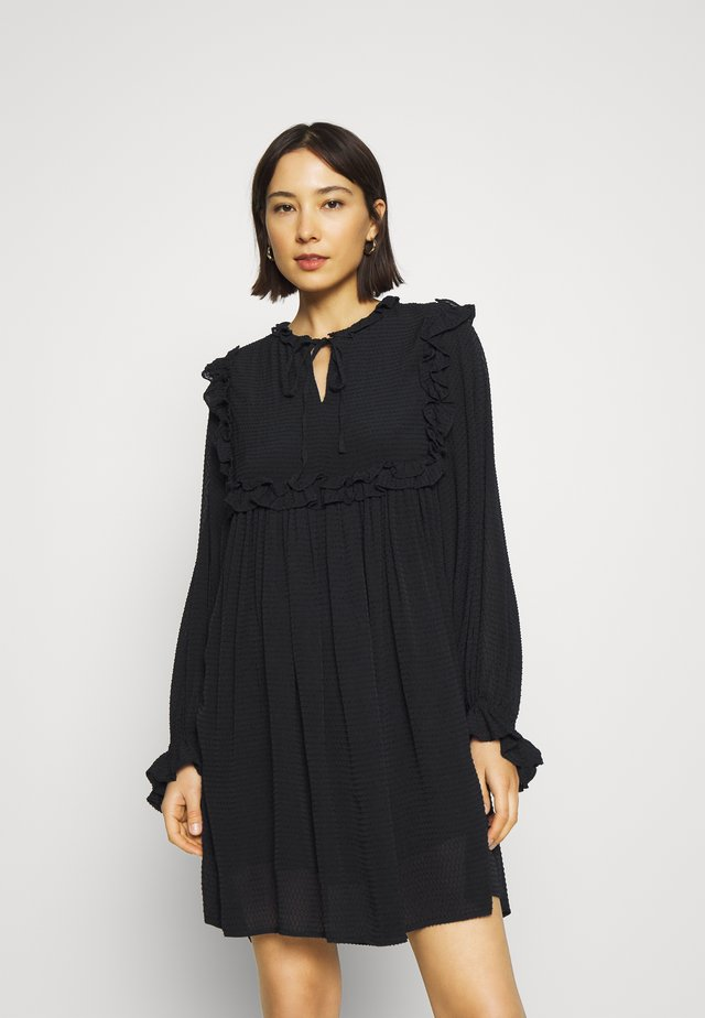 IZA - Korte jurk - black