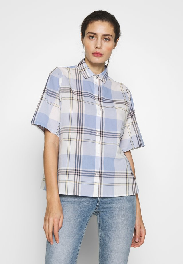 MUNA - Button-down blouse - light blue