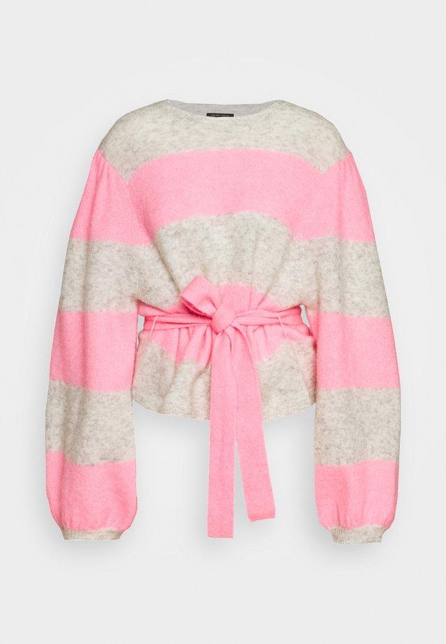 AYLA - Svetr - neon pink