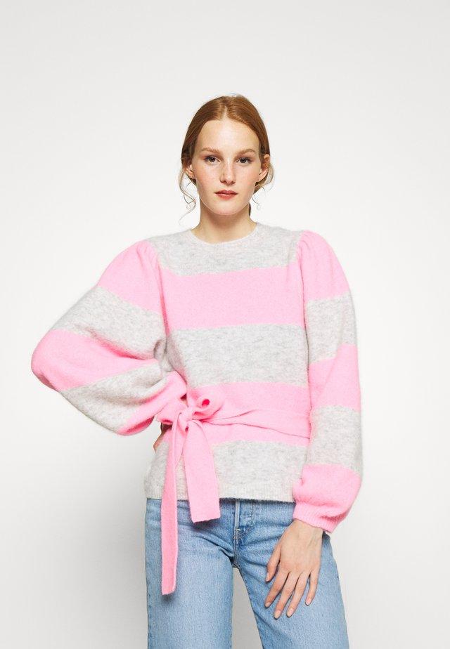 AYLA - Strikpullover /Striktrøjer - neon pink