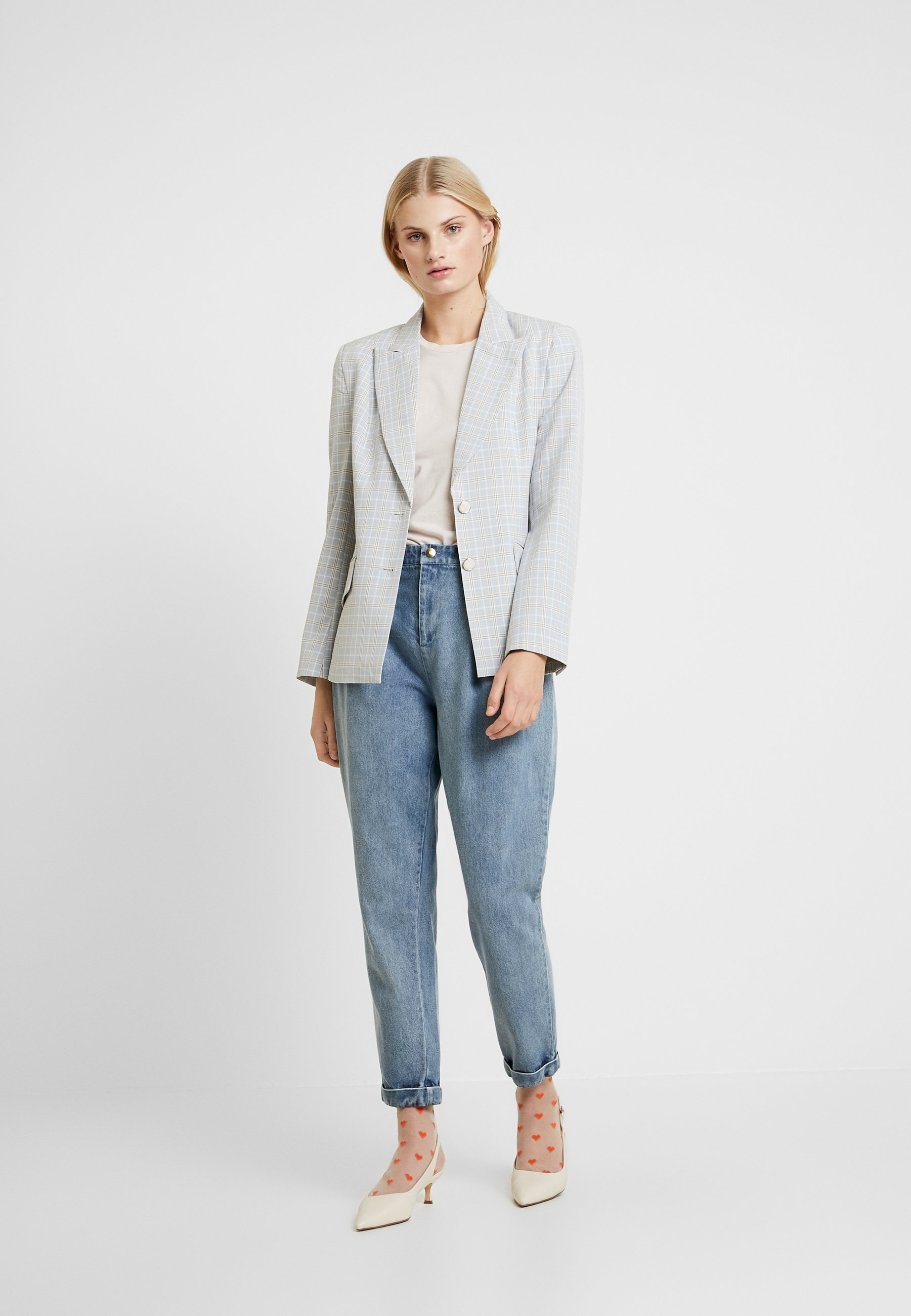 Stella Nova AIDE - Jeansy Relaxed Fit - light-blue denim