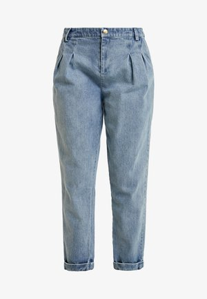 AIDE - Relaxed fit jeans - light-blue denim