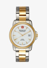 Swiss Military Hanowa - RECRUIT PRIME - Rannekello - silver-coloured/gold-coloured - 1