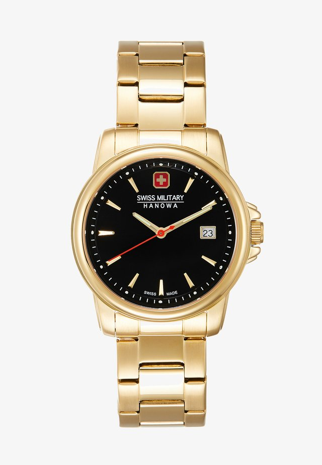 SWISS RECRUIT II - Watch - gold-coloured/black